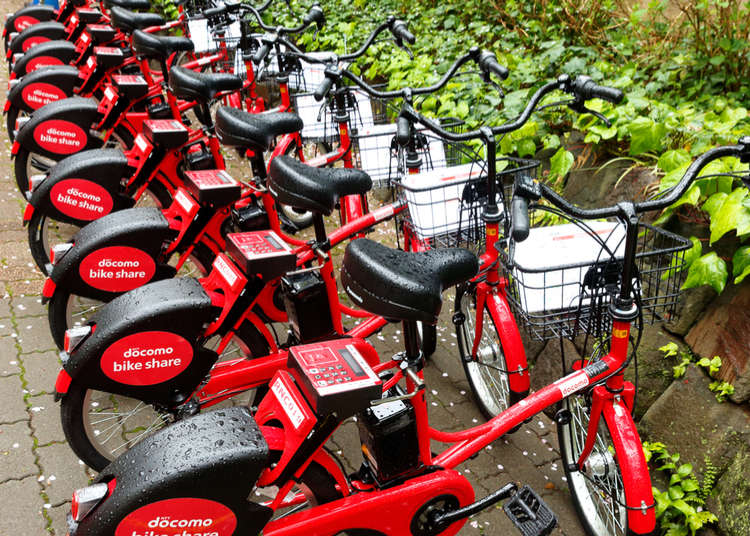 騎單車遊東京!活用東京的自行車分享服務
