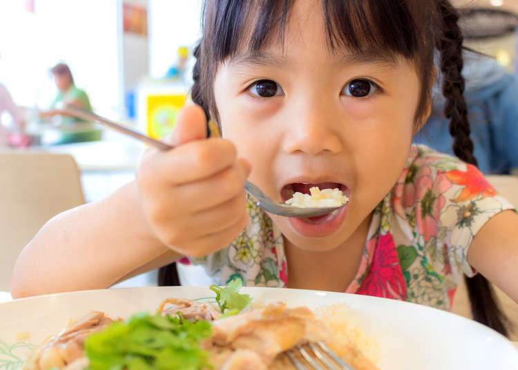 Child-Friendly Japanese Foods