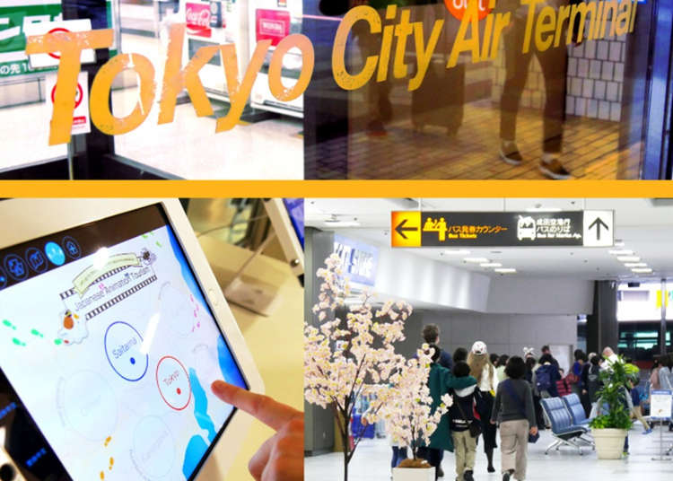 T-CAT, the Tokyo City Air Terminal: Easy and Convenient Access to Narita and Haneda Airport