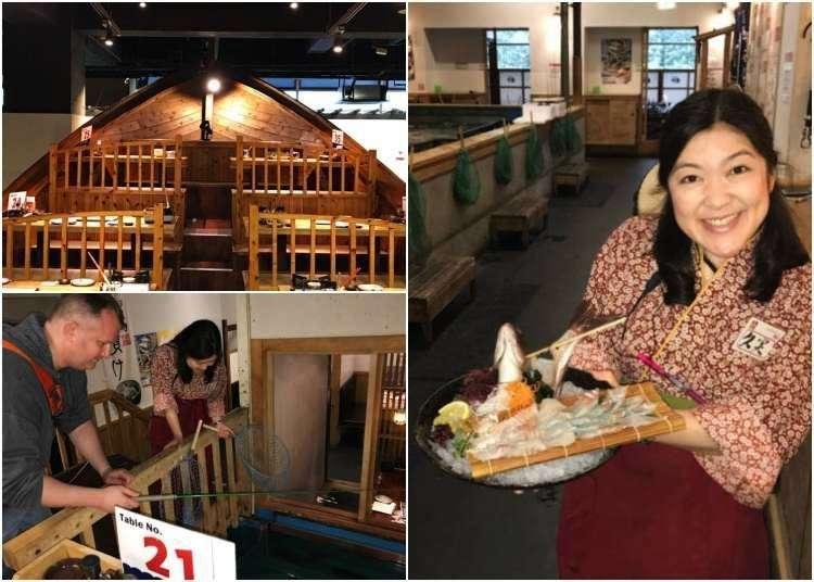 Fishing Restaurant Zauo in Shinjuku