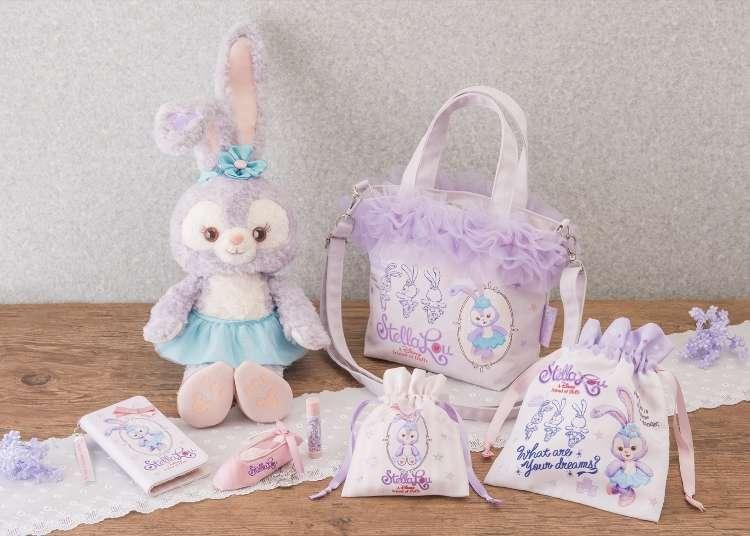 東京迪士尼海洋限定必買-閃亮新巨星史黛拉兔新商品