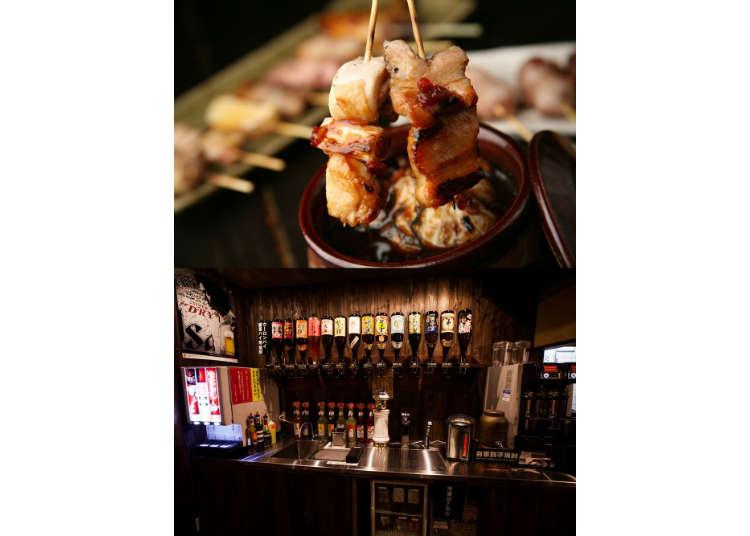 新宿超高CP值大眾居酒屋-串燒只要60日圓起!還有299日圓30分鐘暢飲!