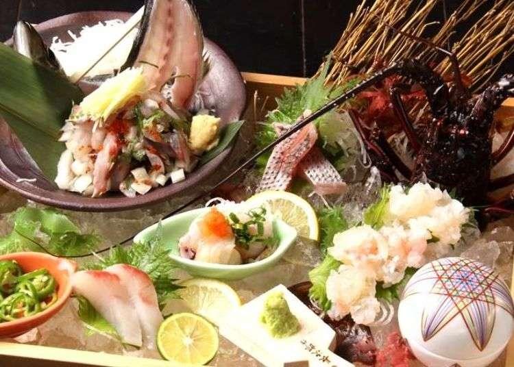 新宿居酒屋「五島人 西新宿店」,來自長崎的食材饗宴