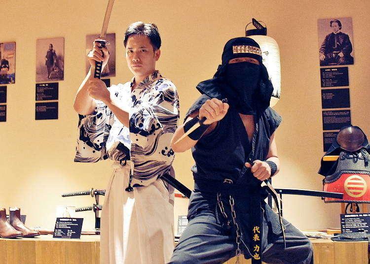 サムライミュージアム-侍の真の姿とは