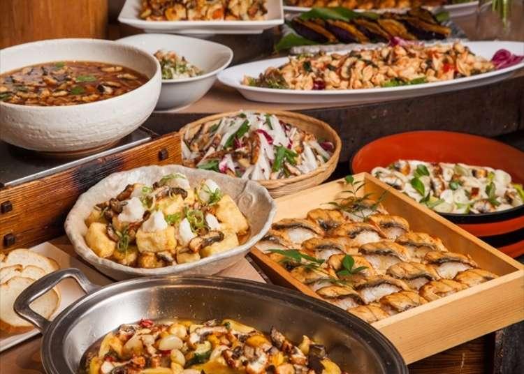 10種鰻魚料理吃到飽!「大地的禮物」上野店期間限定活動!