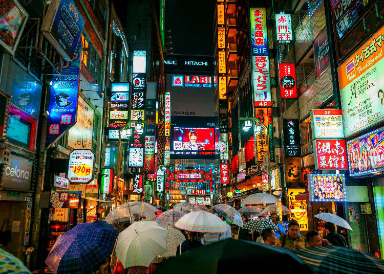 Shinjuku Leisure Guide: the Top Shops in Shinjuku and Kabukicho – and After-Shopping Relaxation!