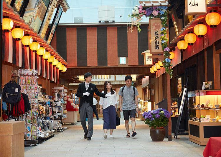外国人美女と「羽田空港」めぐり。グルメも願いごとも出来る観光スポットだった|東京執事物語