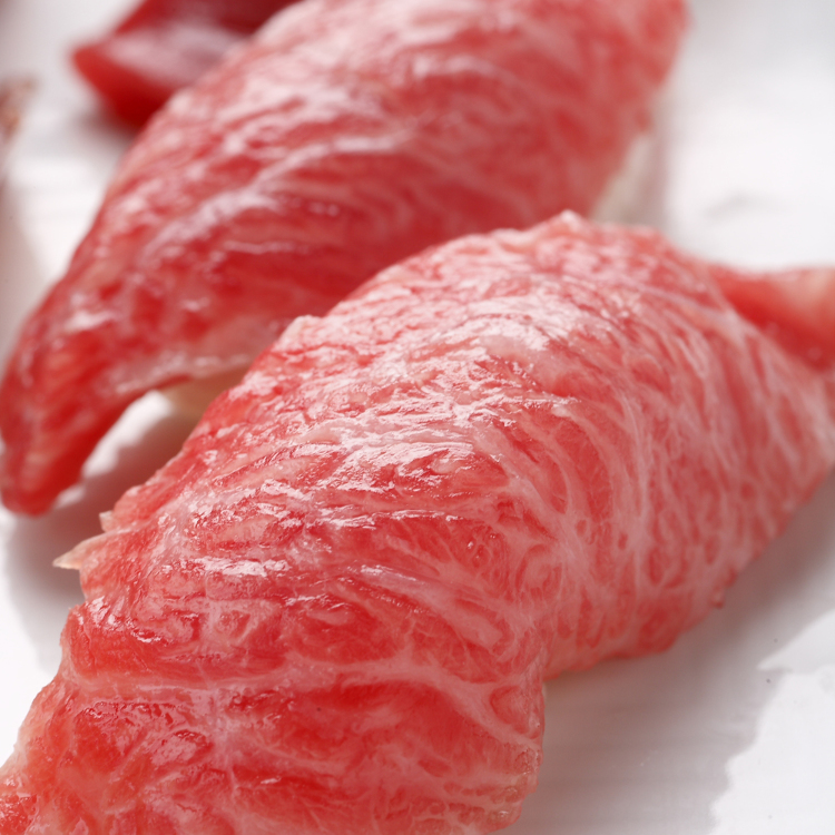 The daily catch of fresh bluefin tuna arriving today at 5:30PM.