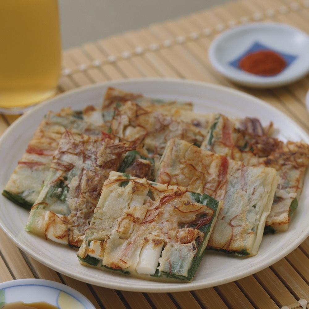 拌饭,韩式煎饼