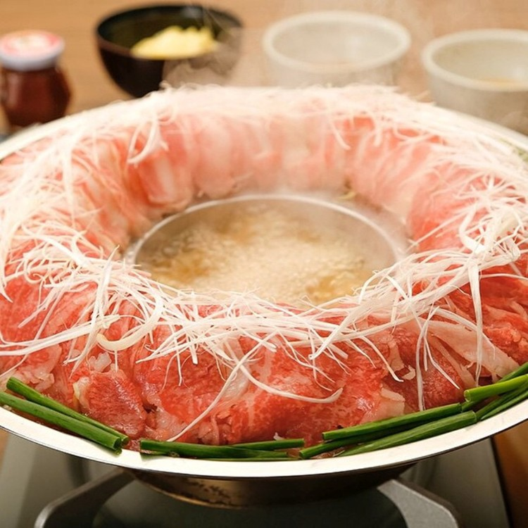 Taste only in gold ivy , Hakata cook meat pot.