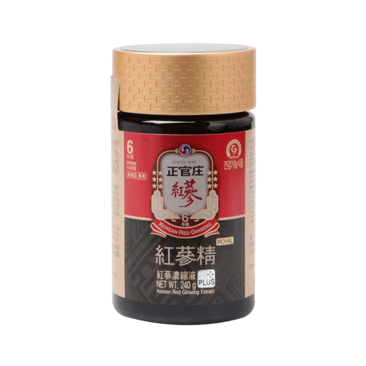 CheongKwanJang Red Ginseng Extract Known for being extremely high-quality, our extract is made utilizing KGC's proprietary low-temperature technology, which avoids denaturing the healthy plant components.