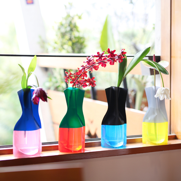 Flower Vase – Add water to transform this item into a beautiful vase. Available in a variety of designs, it's a popular gift item thanks to its compact plastic construction.