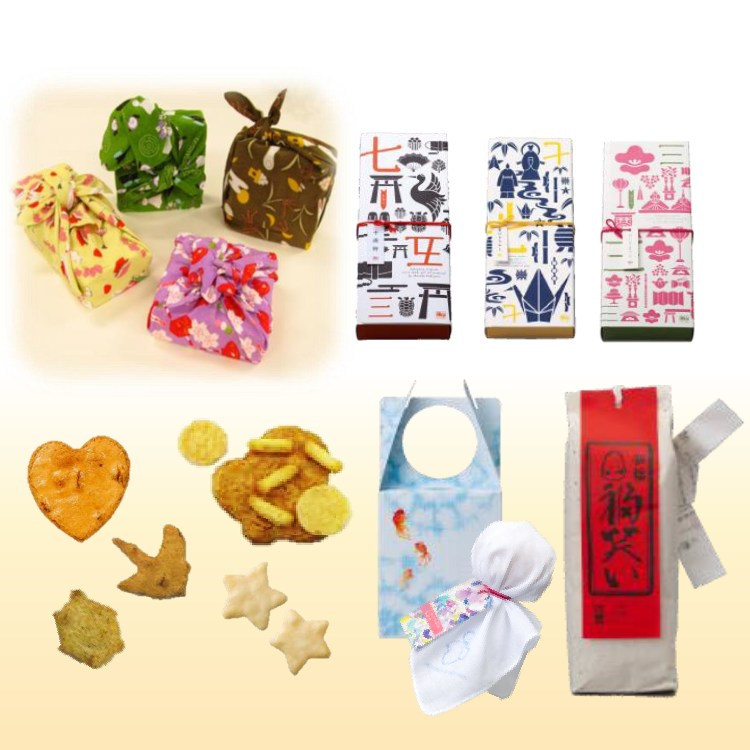 The Seasonal Set, a gift set themed to the events of the season – very popular when combined with a furoshiki cloth