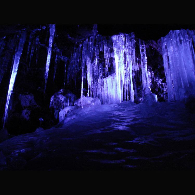 The Narusawa Hyoketsu Ice Cave