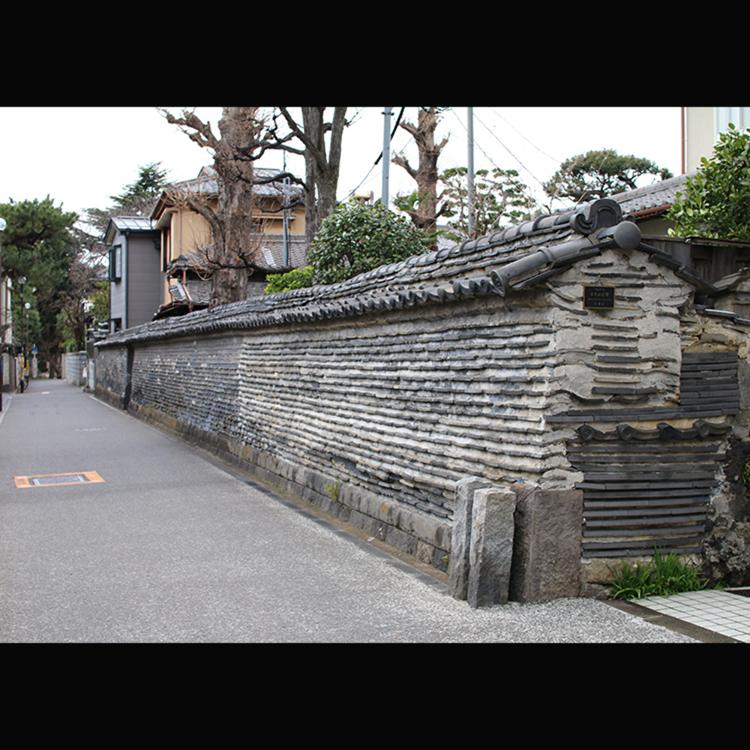 築地塀(観音寺)