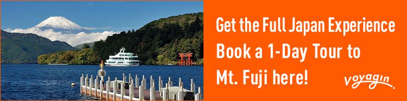 Mt. Fuji, Hakone and Lake Ashi One Day Tour