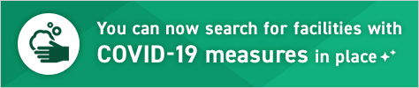 You can now search for facilities with COVID-19 measures in place